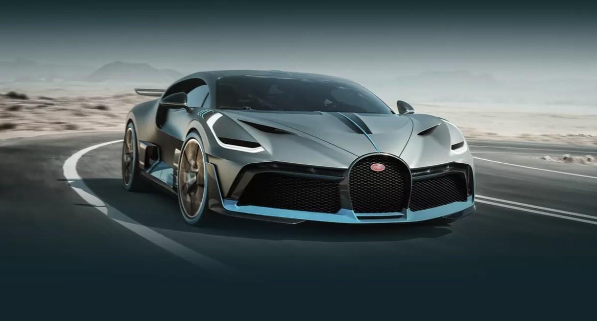 самое быстрое авто Bugatti Divo