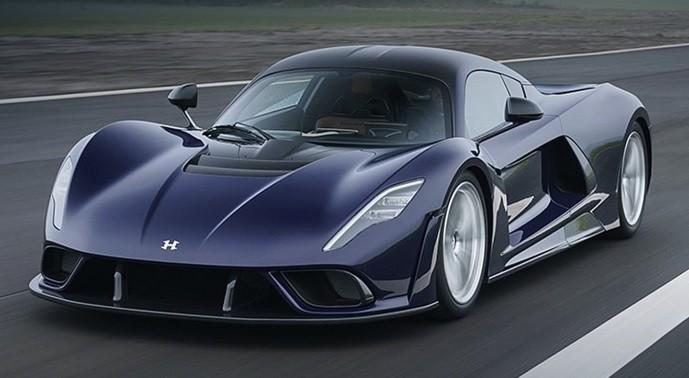 самое быстрое авто Hennessey Venom F5 фото