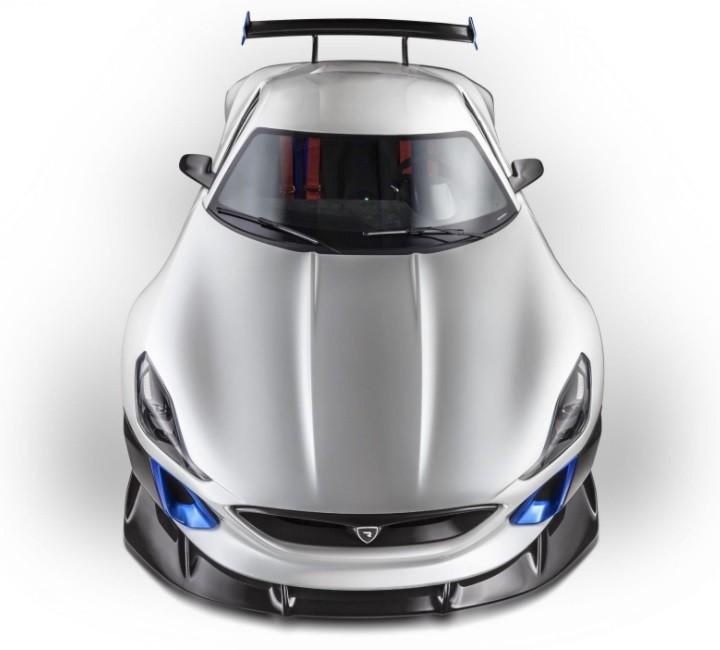 самое быстрое авто Rimac Concept_S фото