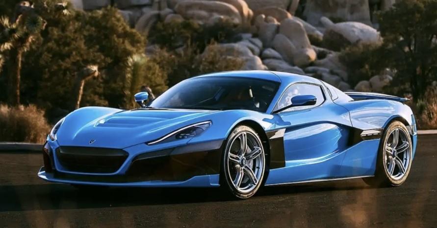 самые быстрая машина в мире Rimac Concept Two фото