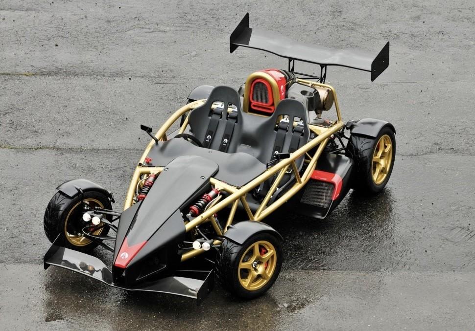 самый быстрый автомобиль 2021 Ариэль Атом В8 500