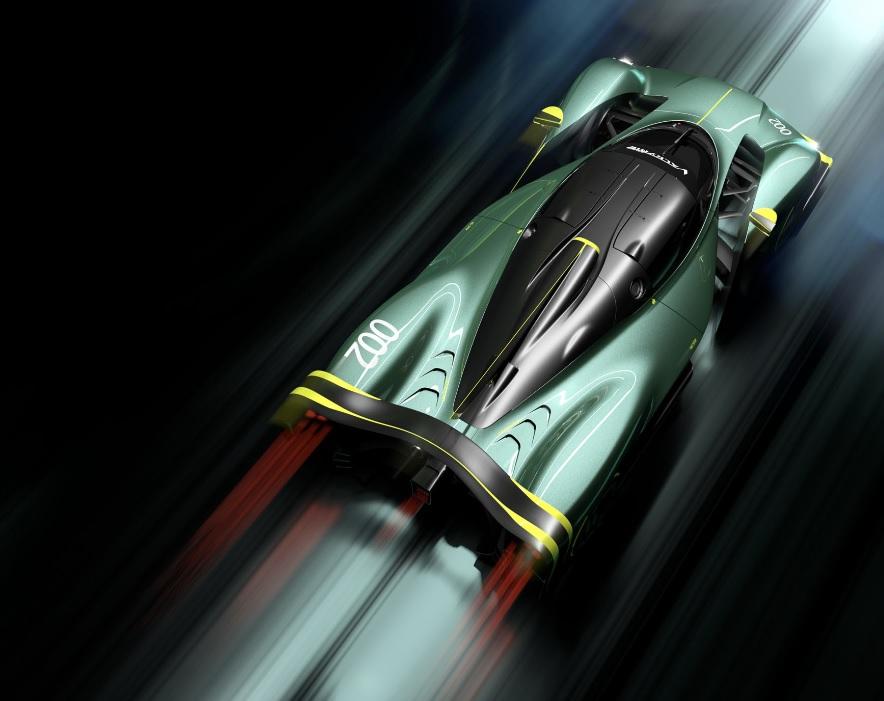 самый быстрый автомобиль Астон Мартин Валькирин АМР Про