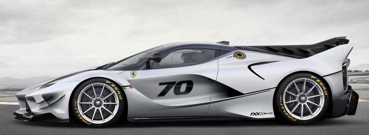 самый быстрый автомобиль Ferrari FXX-K Evo фото