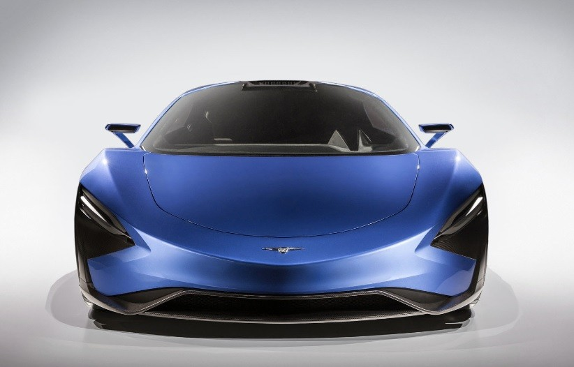 самый быстрый электромобиль 2021 TechRules AT96 TREV Concept