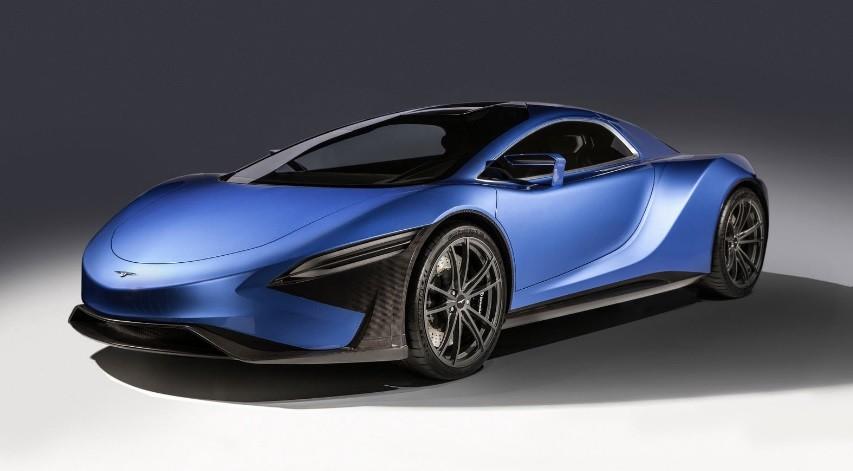 самый быстрый электромобиль 2022 TechRules AT96 TREV Concept