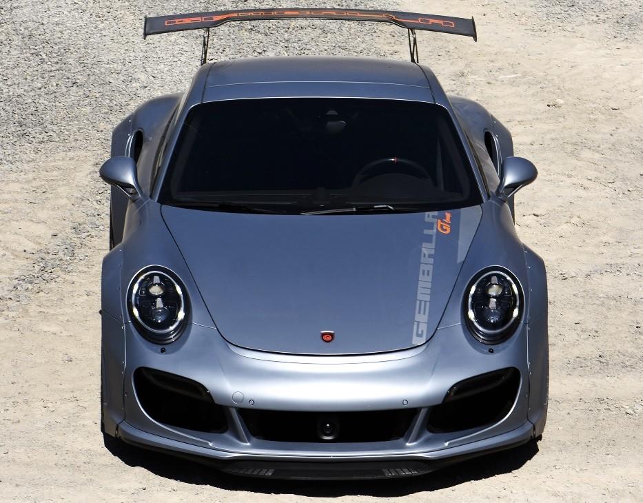 самый быстрый седан в мире Gemballa GT Concept