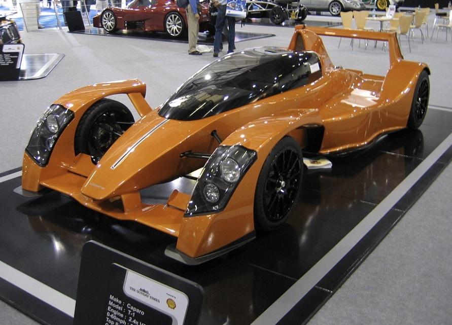 самый мощные машины в мире Caparo T1 фото
