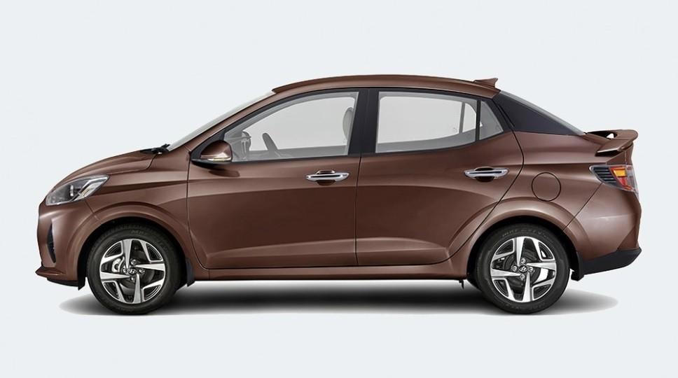 Внешний вид Hyundai Aura 2021
