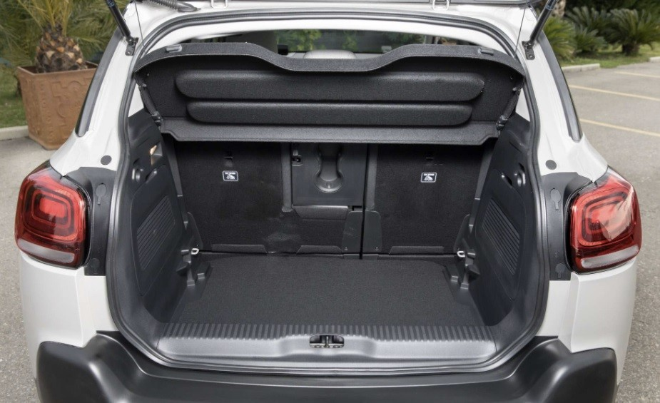 багажник кроссовер Citroen C3 Aircross 2021