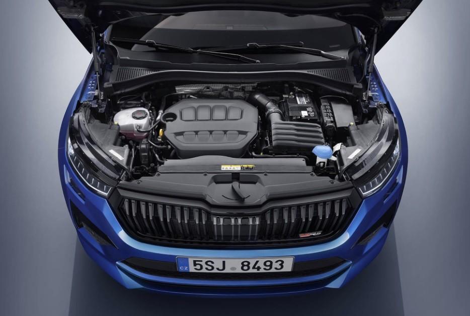двигатель Skoda Kodiaq 2021